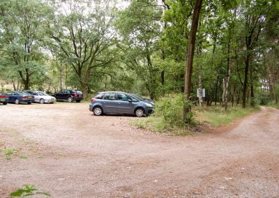 Bos-parkeerplaats