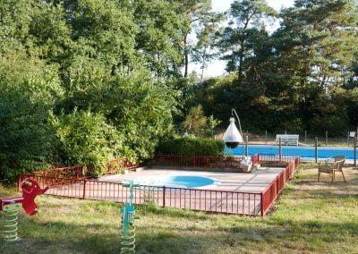 Peuterbad en zwembad